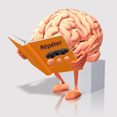 Répéter c'est la première loi de l'apprentissage